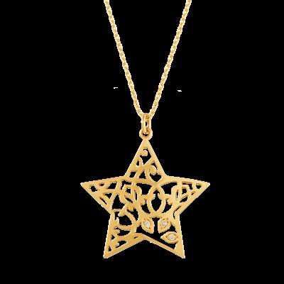 Star of Bethlehem Collection 18K黄金项链 7399