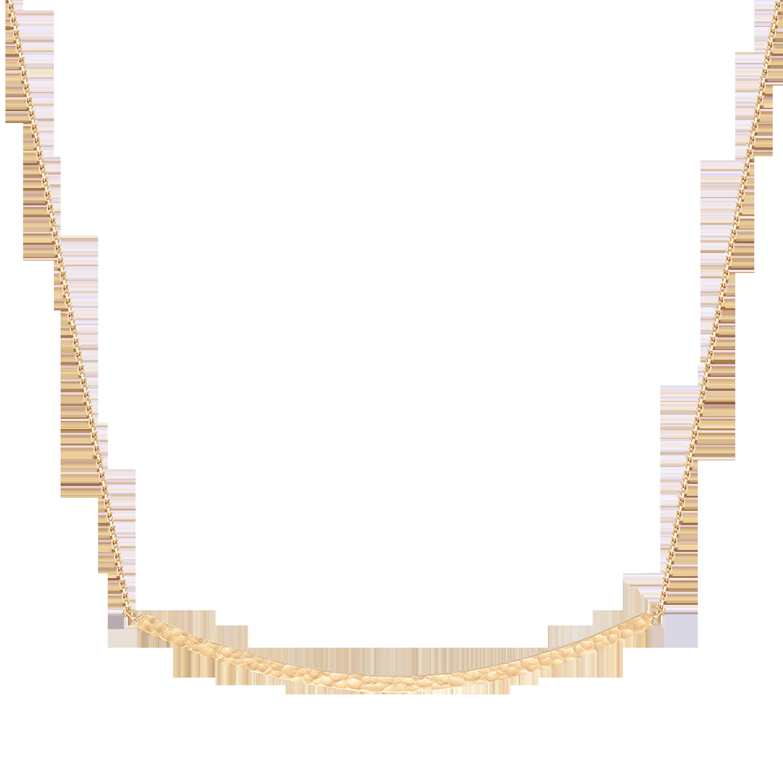 Martelage Collectiob 10K黄金 锤目纹圆形项链 2999