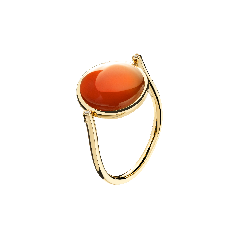 Soiree Collection 18K黄金 玛瑙戒指 6999