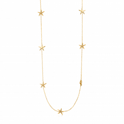 14 Ocean Collection Trésor 18K金 海星钻石项链 ¥ 8699