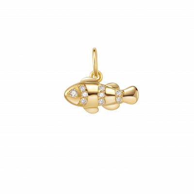 8 Ocean Collection Trésor 18K金 小丑鱼吊坠¥ 2699