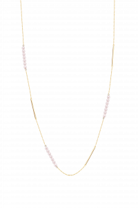 Rosee du Matin Collection 9K Pearl Long Necklace ¥5399