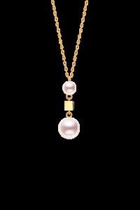 Confetti Collection 18K金双珍珠项链 ¥4399