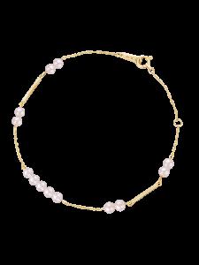Rosee du Matin Collection 9K金珍珠手链 ¥2999